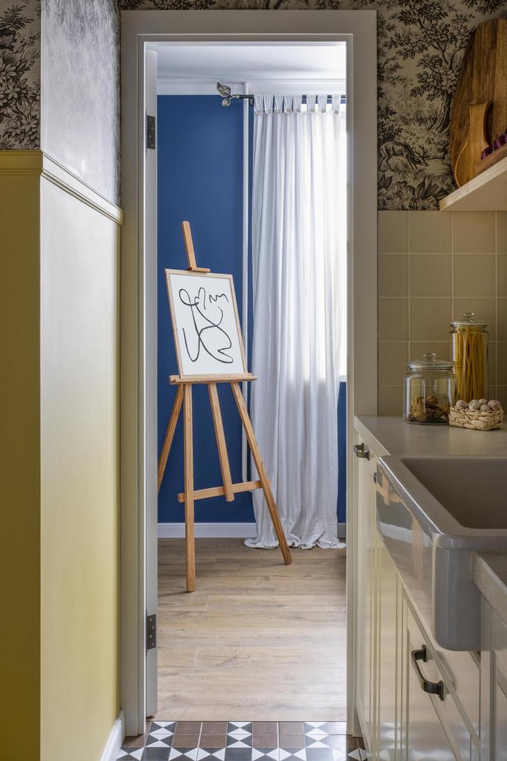 Фото №10 - Двухкомнатная квартира 37 м² с кухней в коридоре