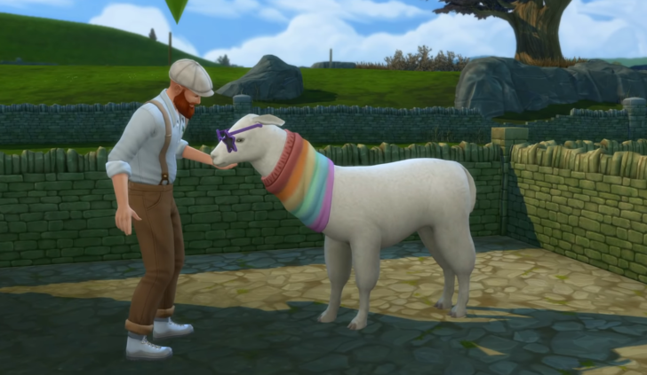 Фото №6 - Скорее качай: новое дополнение «Sims 4: Загородная жизнь» уже доступно ✨