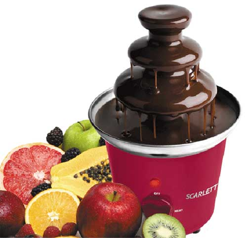 Шоколадный фонтан для детей рецепты
