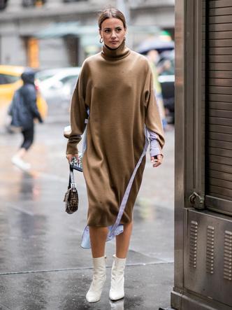 Фото №6 - Осенняя униформа: как выбрать идеальное трикотажное платье