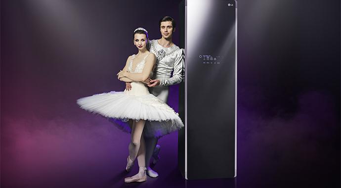 Звезды мирового балета снялись в рекламе LG