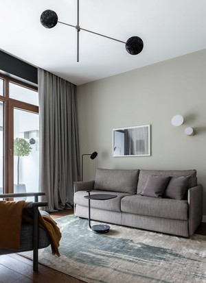 Фото №8 - Брутальная квартира для молодого холостяка 96 м²