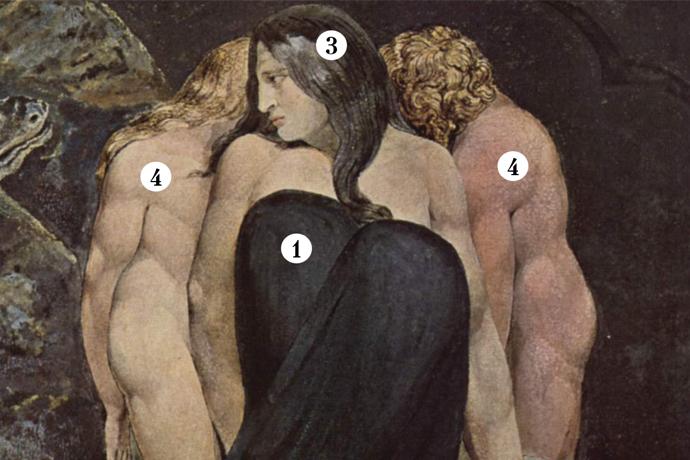 «Геката» Уильяма Блейка: о чем говорит мне эта картина?