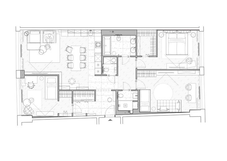 Фото №19 - Уютная квартира 120 м² для большой семьи в Москве