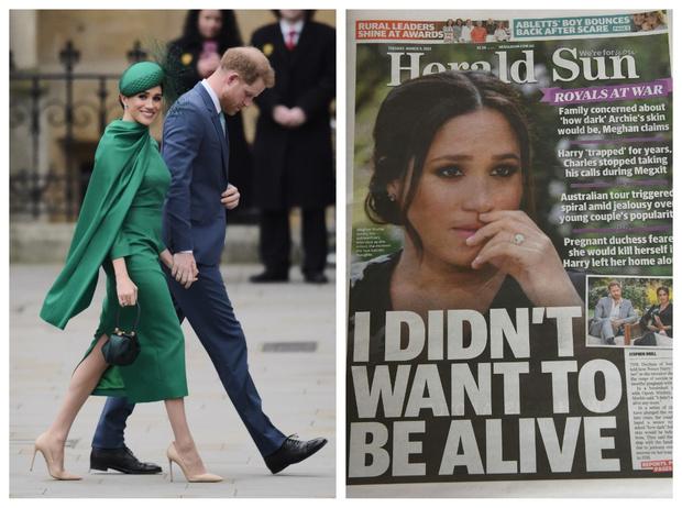 Фото №1 - Год после «Мегзита»: провалы, скандалы и успехи Гарри и Меган с момента «развода» с БКС