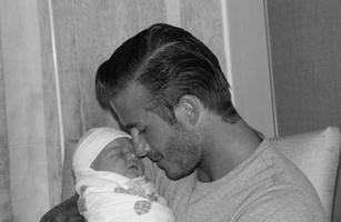 Дэвид Бекхэм (David Beckham) с дочкой Харпер Севен (Harper Seven)