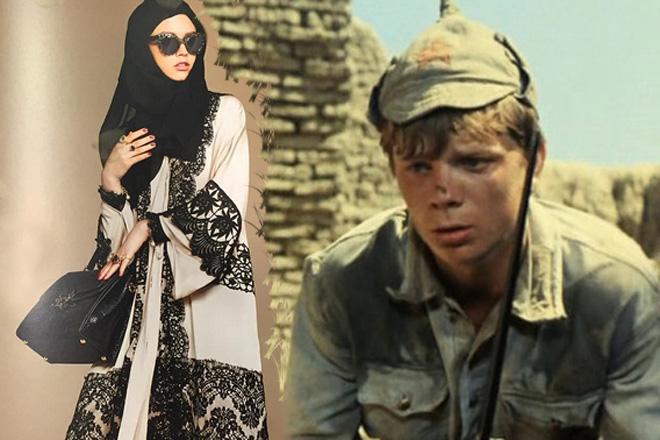 Фото №1 - Открой личико: коллекция хиджабов и абай от D&G