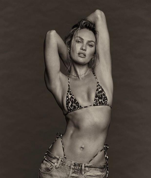 Фото №3 - Леопардовое бикини + джинсы: новые соблазнительные фото Кэндис Свейнпол