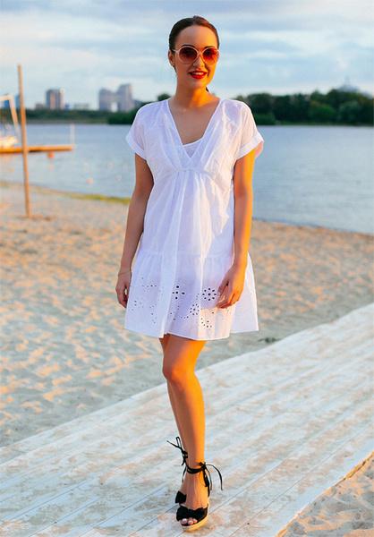 Фото №5 - Тренд лета: как носить платье в крестьянском стиле