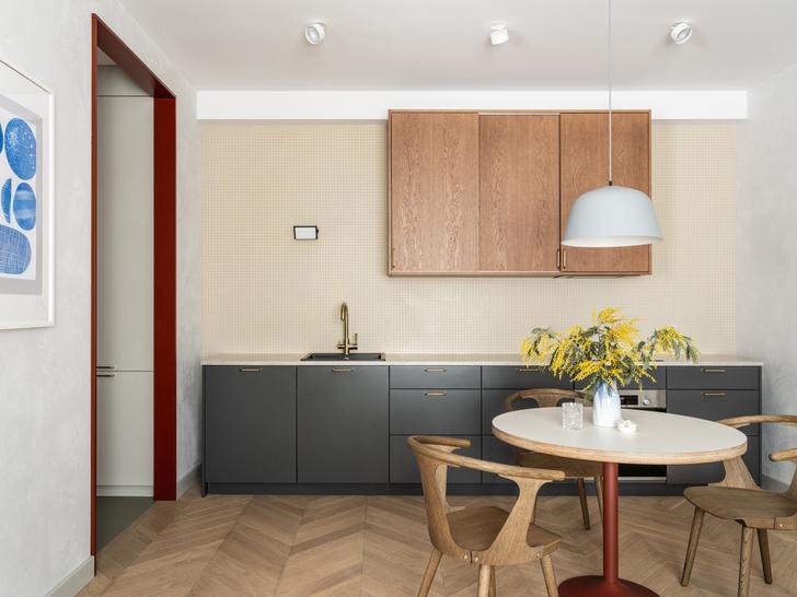 Фото №4 - Лаконичная квартира в теплых натуральных оттенках