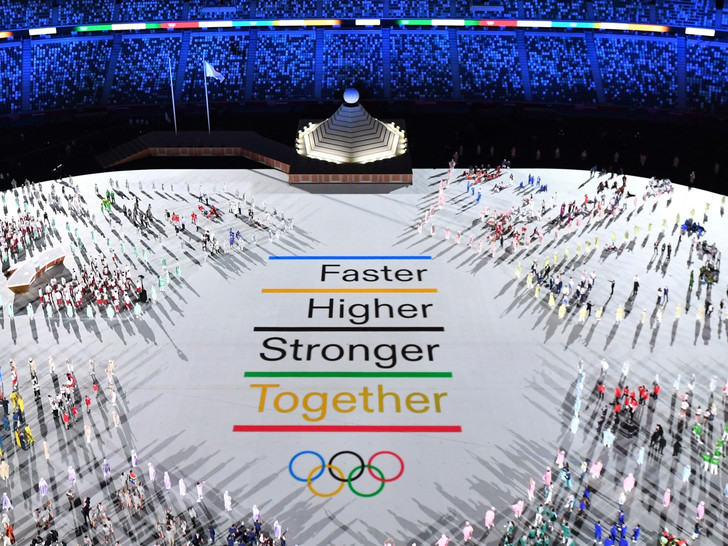Фото №2 - Как прошло открытие Олимпиады в Токио: самые яркие кадры