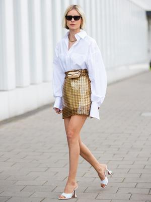 Фото №10 - С чем носить мини-юбки: 8 стильных сочетаний на любой случай