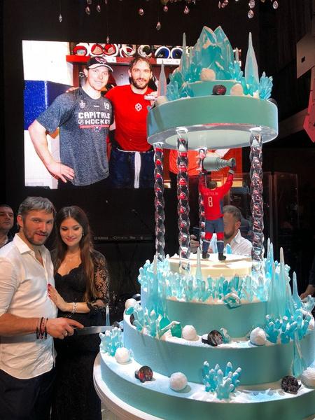 Торт для Александра Овечкина