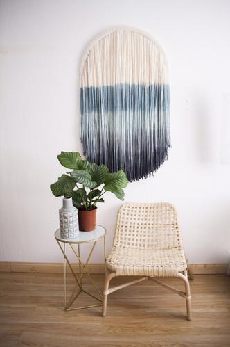 Фото №2 - Новые имена: текстильные панно Дарьи Горн