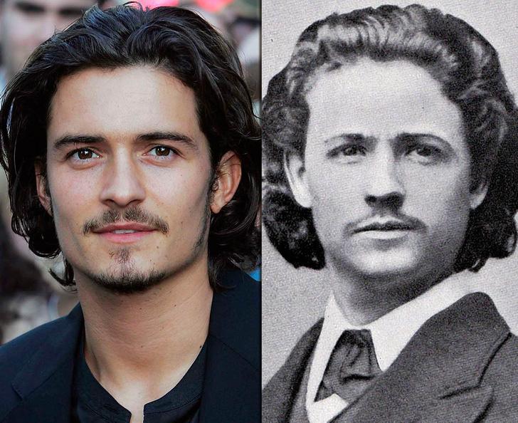 Фото №13 - Взрыв из прошлого: знаменитости, невероятно похожие на исторических личностей