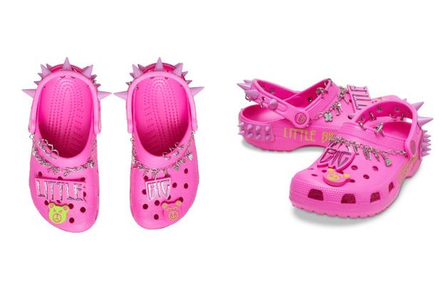 Фото №3 - Шипы и розовый: Crocs и Little Big выпустили капсульную коллекцию