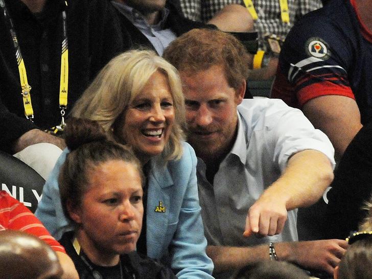 Фото №4 - Неожиданная дружба: что связывает принца Гарри и новую Первую леди США