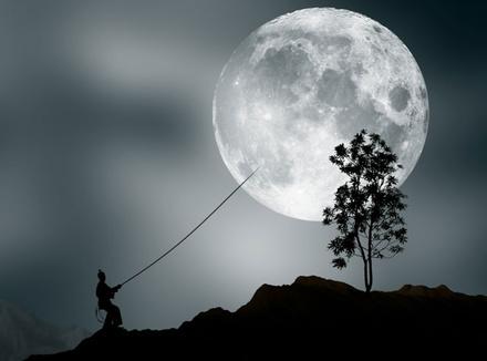 Ночь, луна