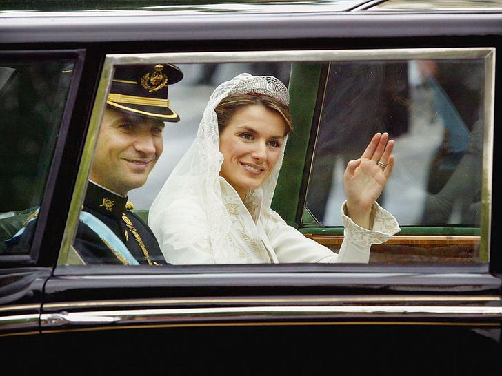 Фото №7 - Какой была свадьба короля Филиппа и королевы Летиции: история в фотографиях