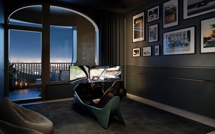 Фото №6 - Апартаменты по дизайну Дэвида Аджайе и Aston Martin