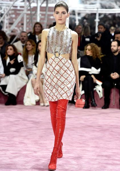 Фото №4 - В Париже прошел кутюрный показ Dior