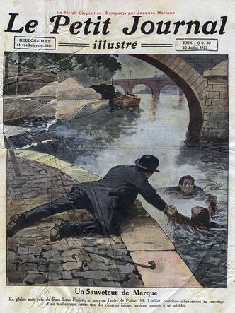 Фото №5 - Парижская Офелия: как таинственная утопленница из Сены спасла тысячи жизней