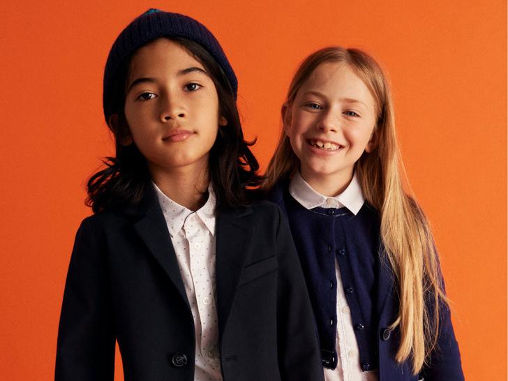 Фото №1 - Как собрать ребенка в школу: стильные образы из коллекции United Colors of Benetton