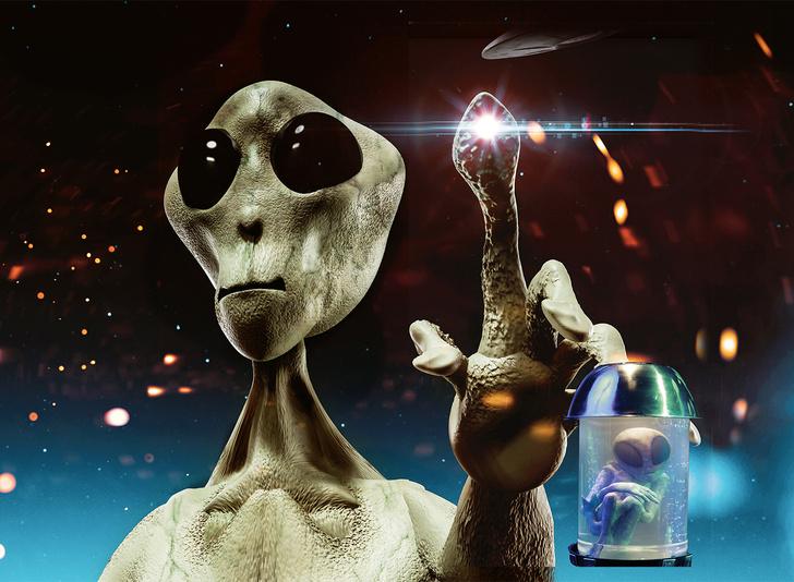 Фото №2 - Изучать непознанное: инопланетяне, йети, Атлантида, лох-несское чудовище
