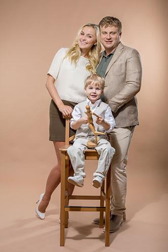 Фото №2 - Анна Городжая: «К созданию семьи я подошла уже сформировавшимся человеком»