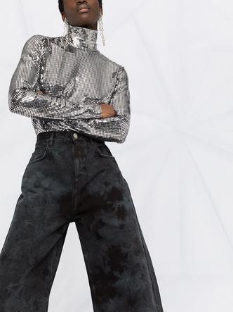 Фото №12 - Самые трендовые джинсы сезона весна-лето 2021: собрали 11 пар, которые украсят ваш гардероб