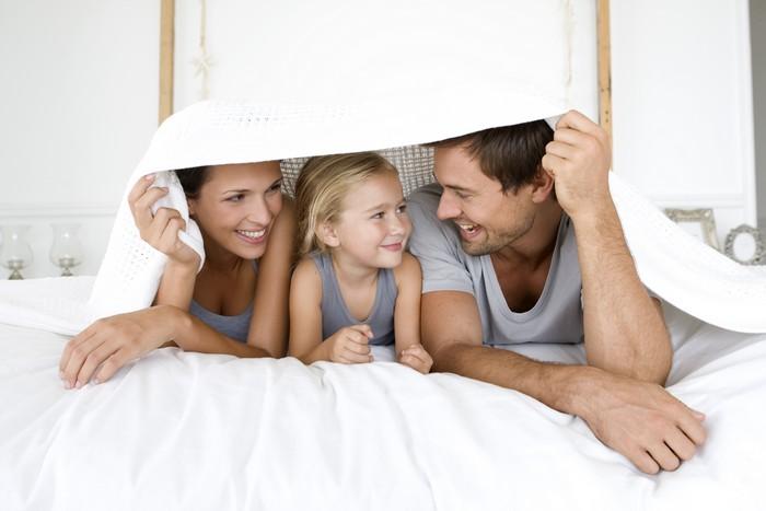 счастливая семья фото