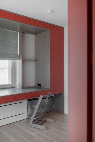 Фото №14 - Квартира с яркими цветовыми акцентами под Минском