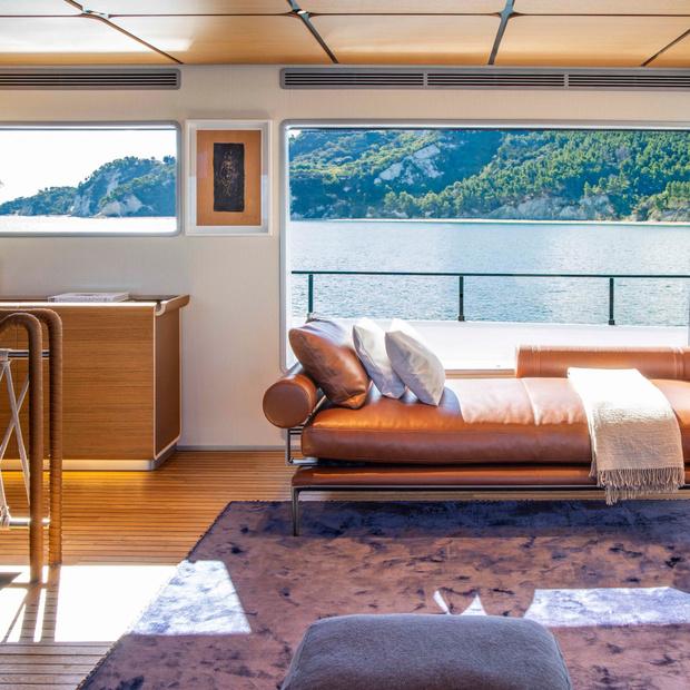Фото №7 - Яхта с интерьерами студии Антонио Читтерио