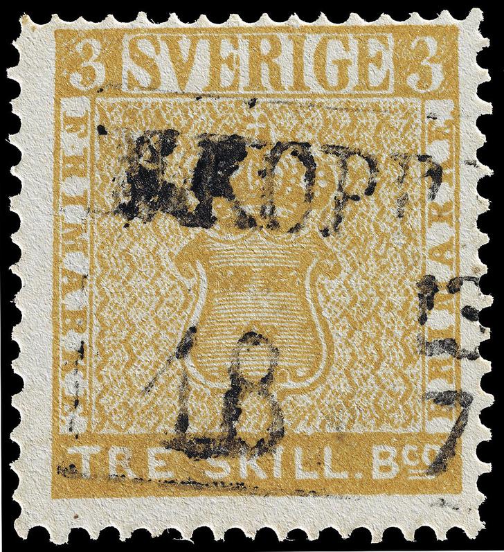 Фото №6 - «Святой Грааль», «Перевернутая Дженни» и еще 3 самые дорогие почтовые марки в мире