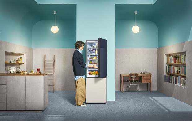 Фото №3 - Samsung представляет обновленную линейку интерьерных холодильников Bespoke в России