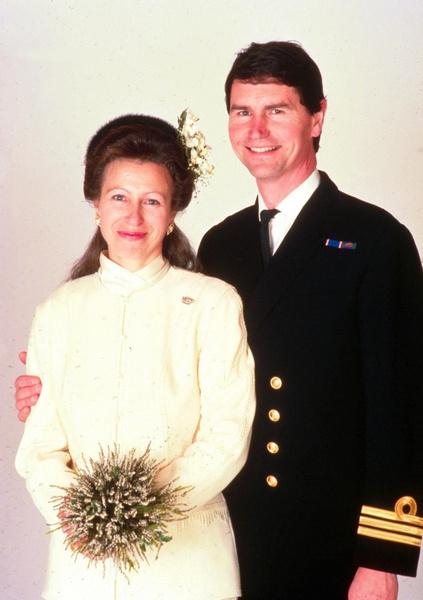 Принцесса Анна и Тимоти Лоренс