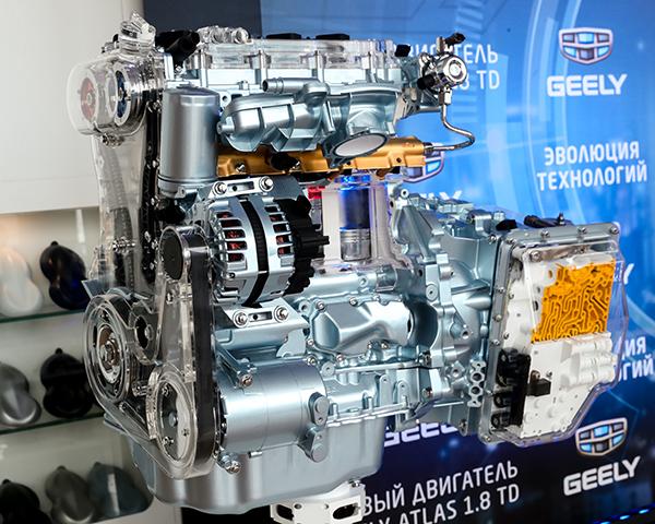 Фото №1 - Под капотом – пламенный мотор: Geely Motors представил новый двигатель
