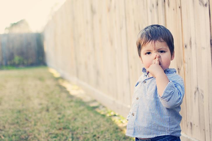 ребенок ковыряет в носу, как его отучить