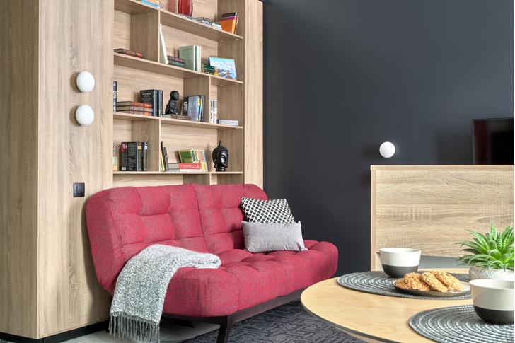 Фото №2 - Стильные апартаменты 31 м² для сдачи в аренду в Москве