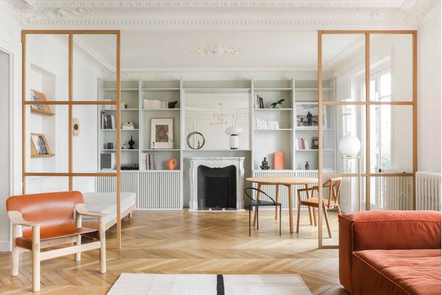 Фото №2 - Парижская квартира в стиле джапанди