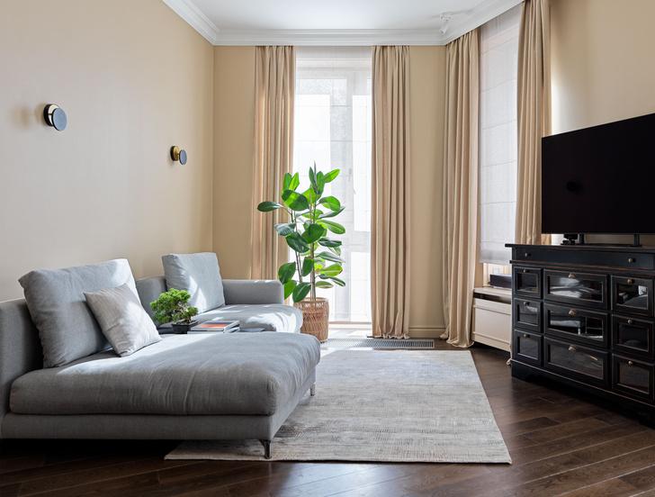Фото №2 - Классическая квартира с яркими акцентами