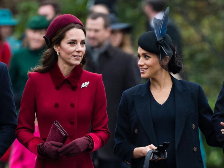 Фото №2 - Как Кейт переживает скандал из-за интервью Сассекских: читаем язык тела герцогини