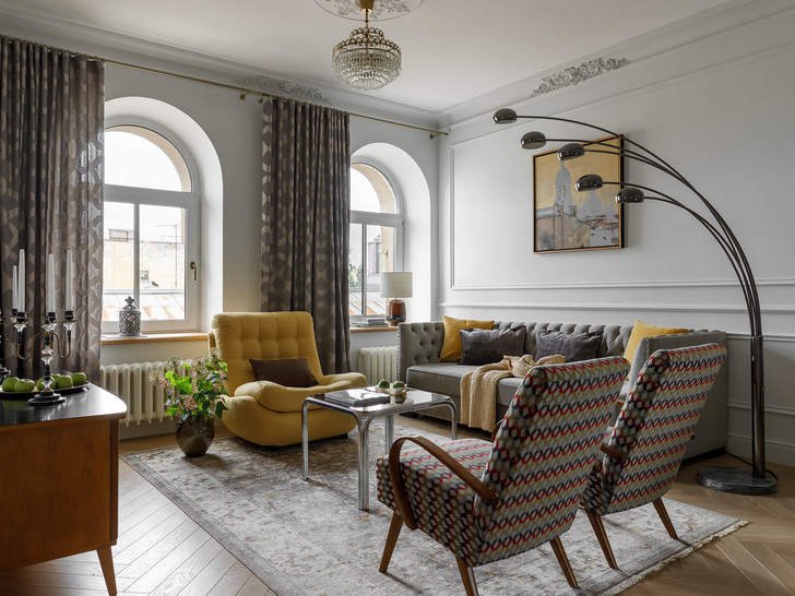 Фото №1 - Атмосферная квартира в доходном доме XIX века в Санкт-Петербурге