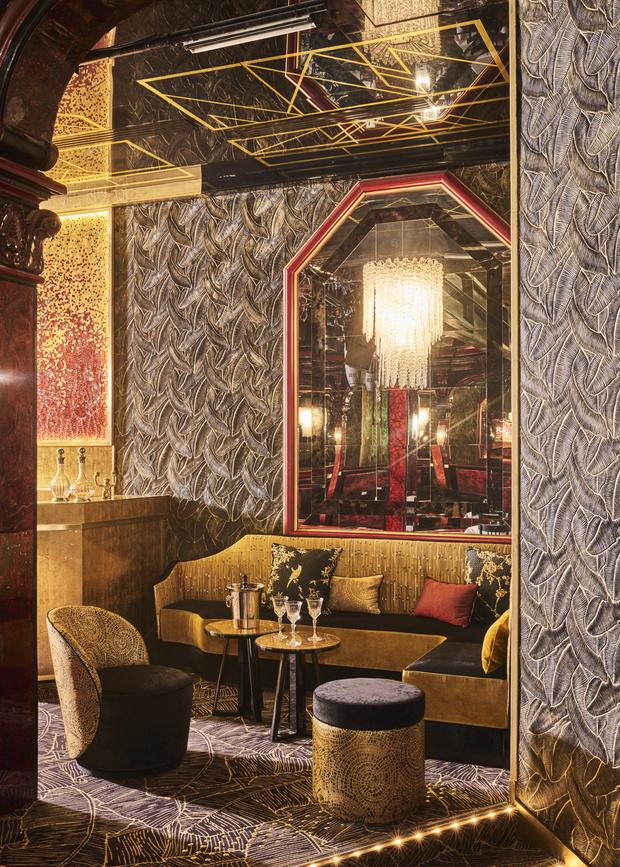 Фото №2 - Обновленный интерьер кабаре Le Paradis Latin в Париже
