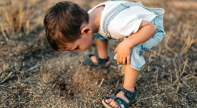 5 необычных занятий c детьми на свежем воздухе