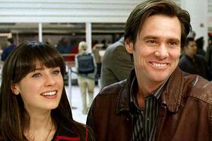 """Zooey Deschanel, Jim Carrey, """"Yes Man"""""""