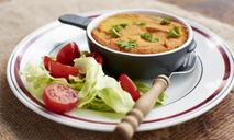 Картофельная запеканка с фаршем и помидорами. Вторые блюда