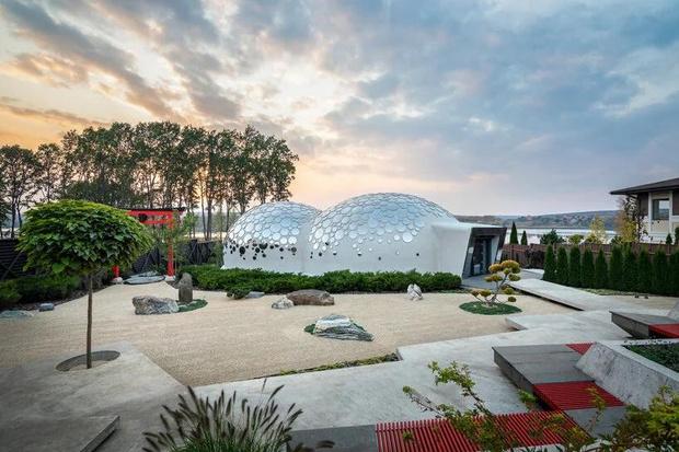 Фото №2 - Удивительный дом-пузырь под Харьковом