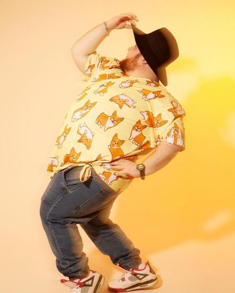 Фото №6 - Что носить летом парням plus size: 10 модных образов