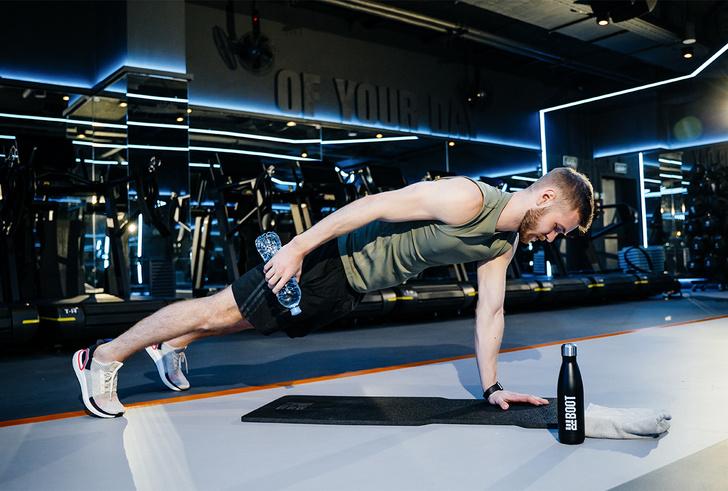 Фото №3 - Прокачай себя! Тренировка c REBOOT LIVE # 3. Силовая программа Upper body